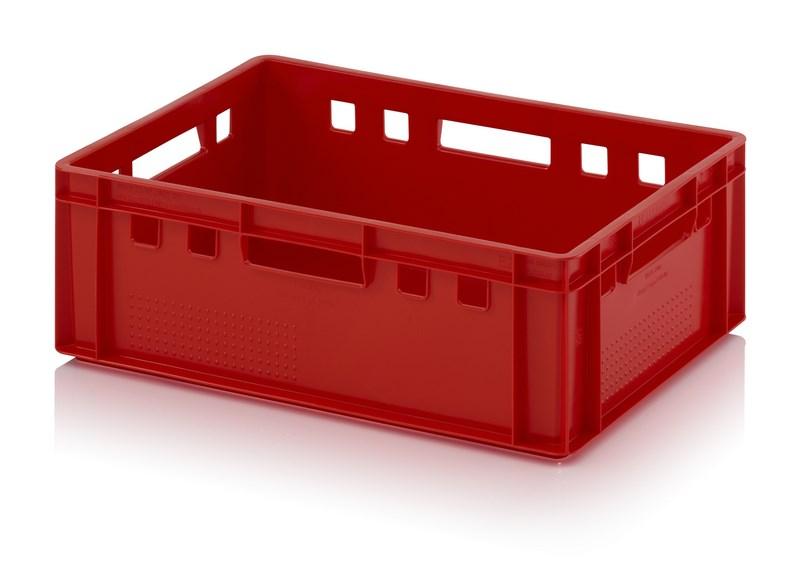 Fleischkiste rot E2 60 x 40 x 20