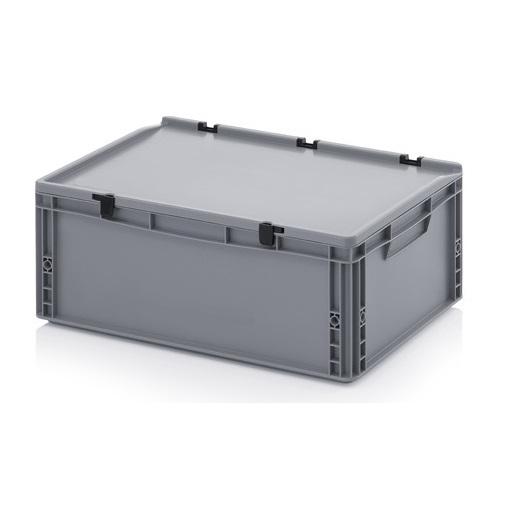 plastikbeh lter 60x40x23 5 kunststoffbeh lter plastikkiste. Black Bedroom Furniture Sets. Home Design Ideas