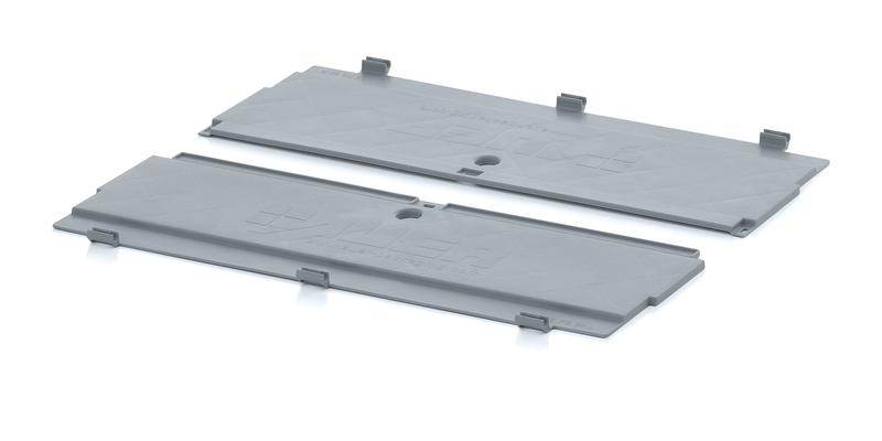 1 Paar Klappdeckel für Faltboxen 60 x 40