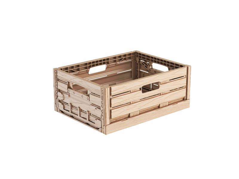 Faltbox Holzdesign 40 x 30 x 16