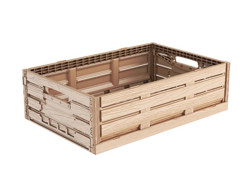 Faltbox Holzdesign 60 x 40 x 16