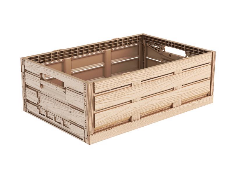 Faltbox Holzdesign 60 x 40 x 19