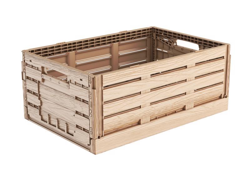 Faltbox Holzdesign 60 x 40 x 22