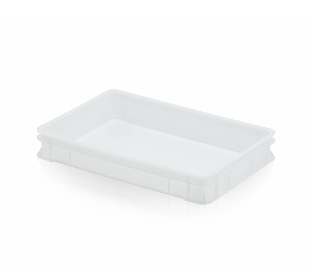 Teigbehälter 60 x 40 x 9,5 weiß