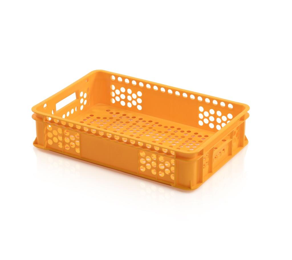 Bäckerkiste 60 x 40 x 13 gelb