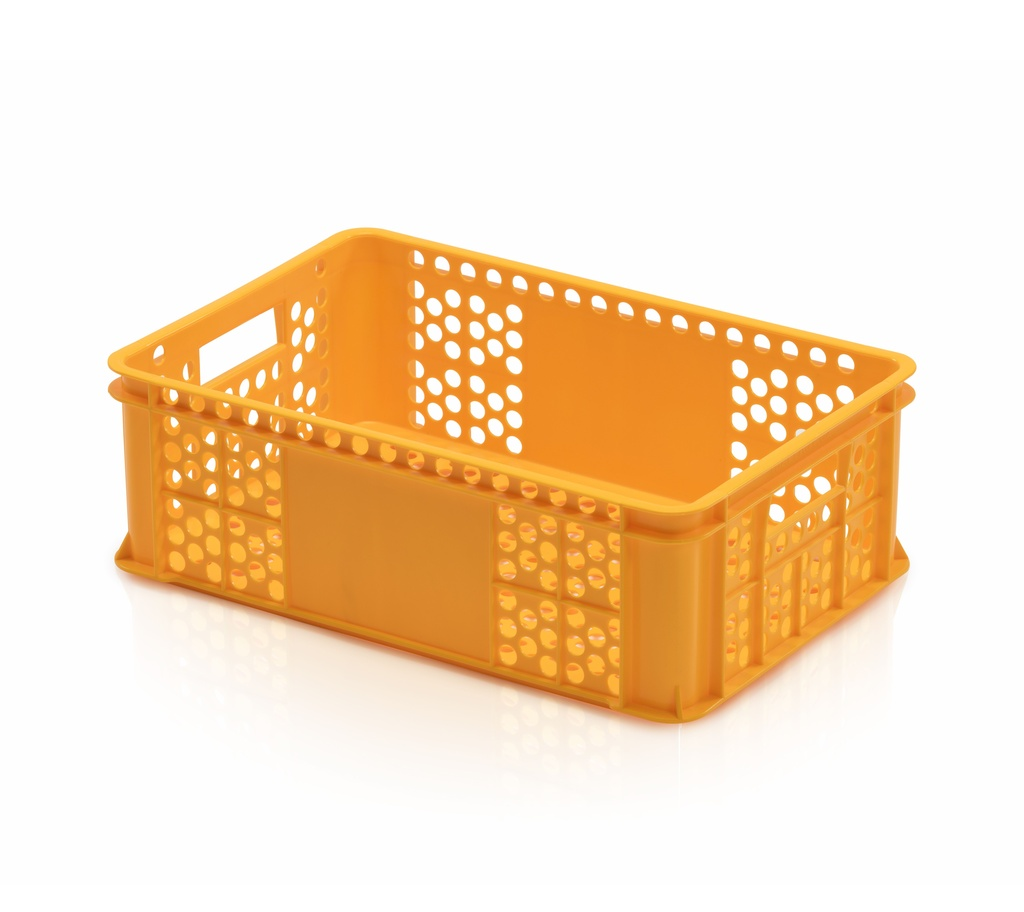 Bäckerkiste 60 x 40 x 20 gelb